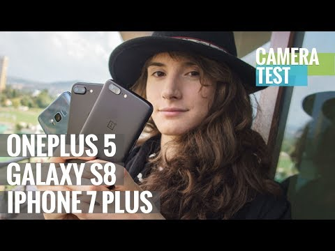Camera battle: OnePlus 5 vs. Galaxy S8 vs. iPhone 7 Plus