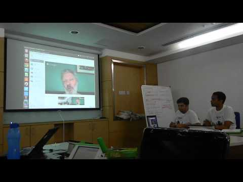Olpc Delhi Hack '13 Google hangout with Walter Bender part 2