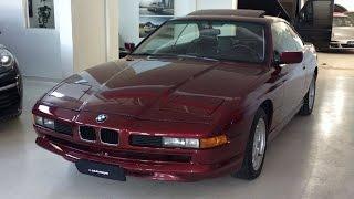 Rara BMW 850i V12 a Venda