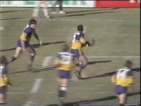 Michael Cronin sets up try in Reserve Grade