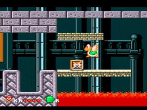 SEGA 16bit Super Mario World Squirrel King HACK