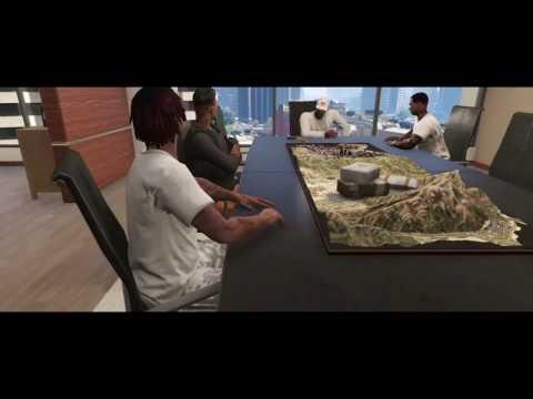 GTA 5: Rapping in DA Hood Ep.1 First Performance