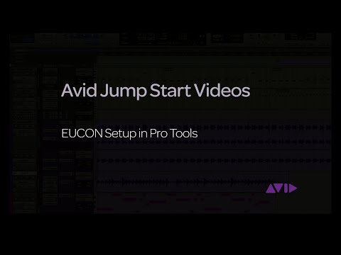 Jump Start Enable EUCON in PT - Avid