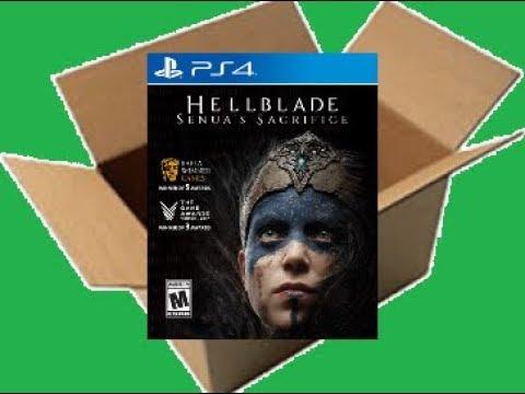 Hellblade: Senua's Sacrifice [PS4] (Unboxing/Breakdown/Demo)