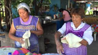 Tortillas de Agua (Tortillas Sobaqueras) in San Pedro, Sonora