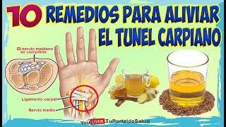 TUNEL CARPIANO 10 Remedios Caseros  y Naturales Para el Túnel…