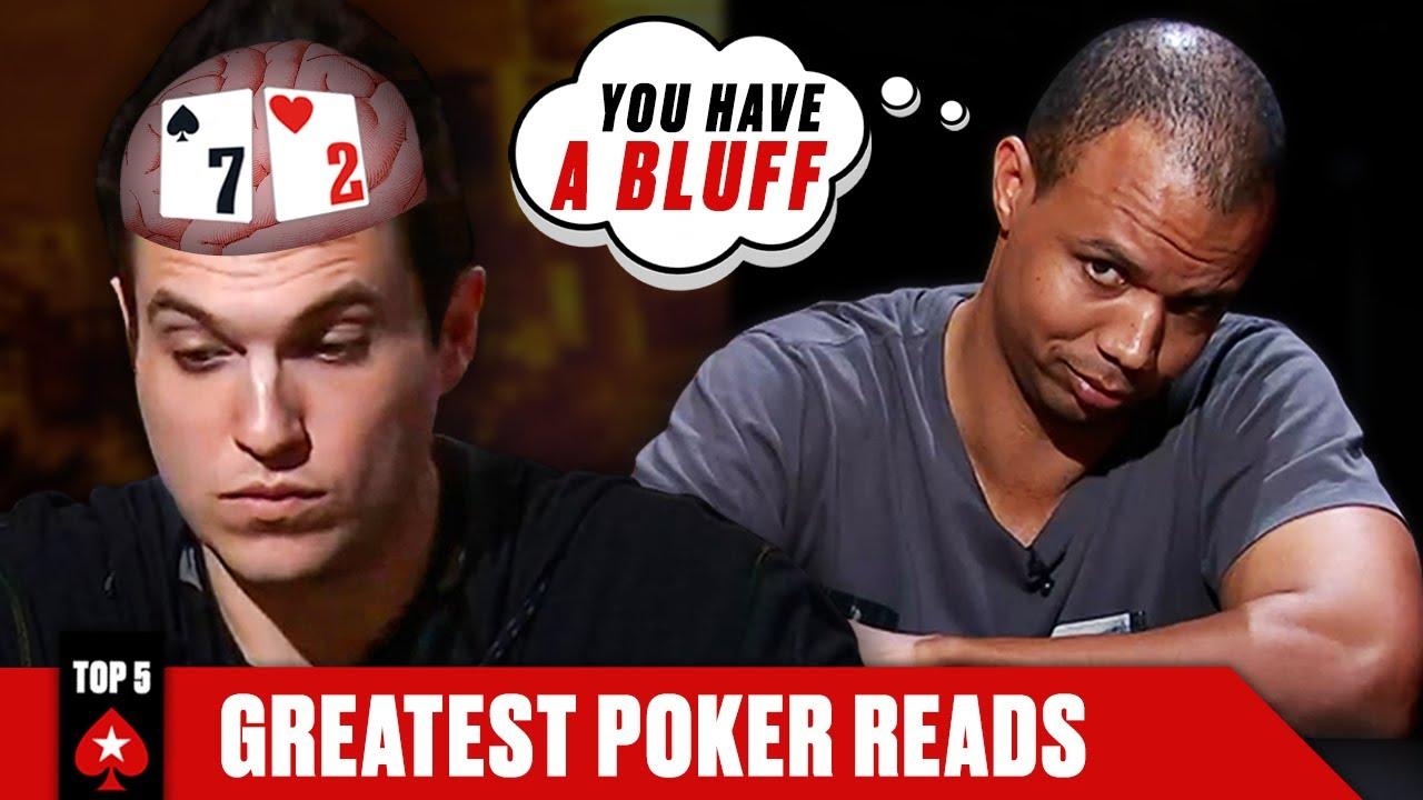 PHIL IVEY PLAYS EVERYONE - TOP 5 POKER READS ♠️ Poker Top 5 ♠️ PokerStars
