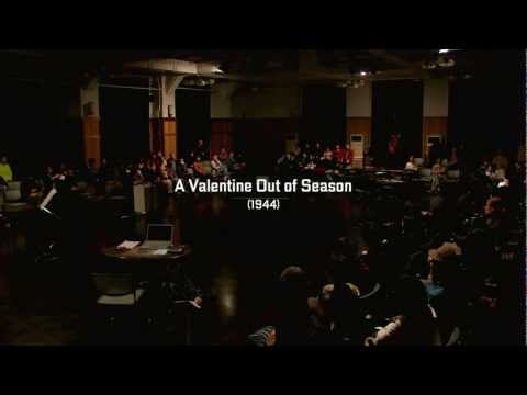 A Valentine Out of Season | 2012 | John Cage 100th Anniv. Countdown Event