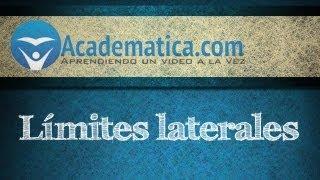 Video de limites laterales - Limite por la derecha - limite por la izquierda