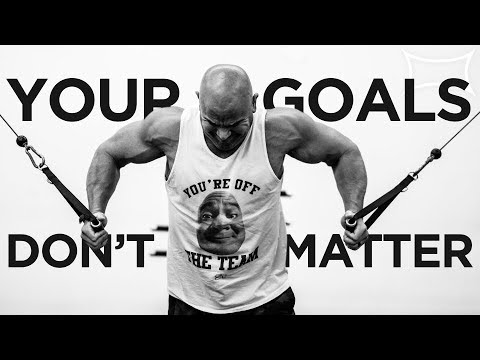 YOUR GOALS DON'T MATTER! | Power Project
