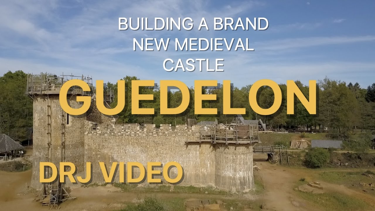 Building a medieval castle: Guedelon, Treigny, France fullHD