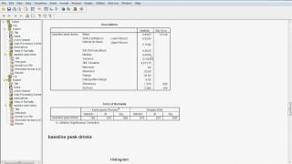 Exploratory data analysis demo for SPSS 15.avi