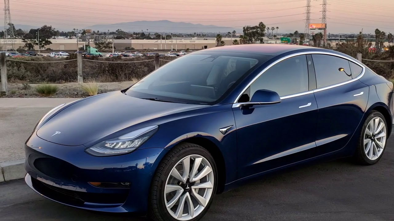 Amazing Tesla Model 3 Production Colors