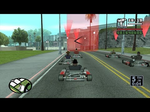 GTA San Andreas - Go-Go Karting - Race Tournament