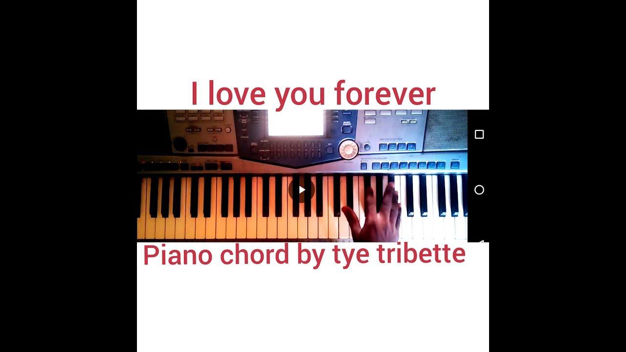 I Love You Forevertye Tribbett Piano Chords Youtube