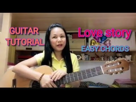 GUITAR TUTORIAL: LOVE STORY COVER