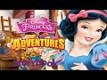 Disney Princess -  Princess Storybook Adventures - PART 1 (Game for Little Girls)
