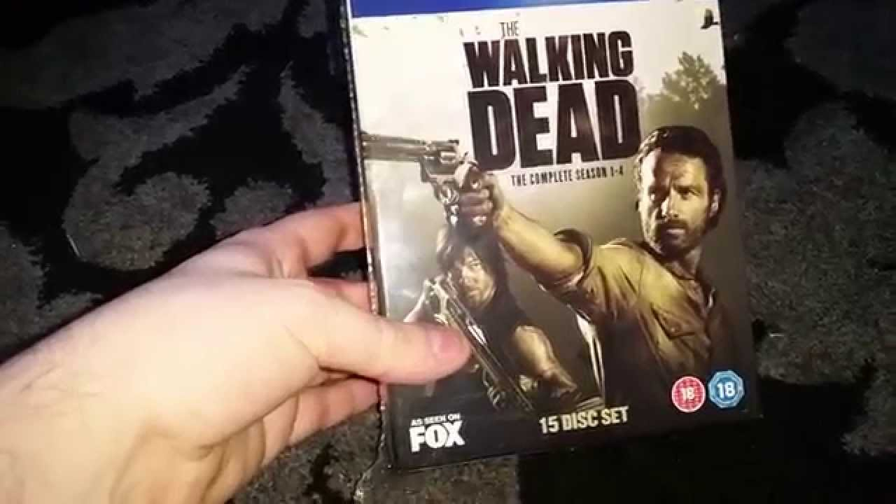 The Walking Dead Season 1-4 Blu-Ray Unboxing