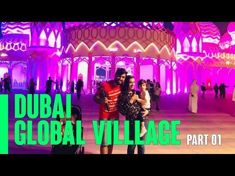 DUBAI GLOBAL VILLAGE 2018 | PART 1 | Dubai Shopping Festival | Malayalam Vlog #30