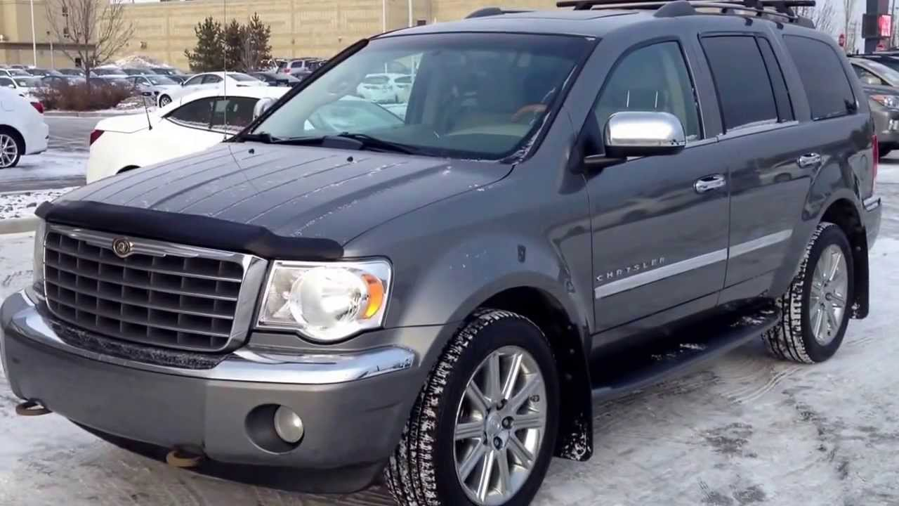 hight resolution of pre owned 2008 chrysler aspen limited 4wd calgary