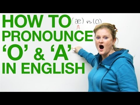 Vowel Pronunciation