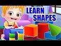 Baby Hazel Preschool Learning Videos For Kids   Learn Shapes & Animals   Baby Hazel Games