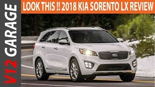 LOOK THIS !! 2018 Kia Sorento LX Review and Price