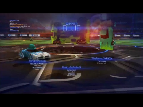 Livestreaming Comp 3s Rocket league / W innocent GAMING