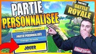OPEN PERSONAL PARTS TO ALL ON FORTNITE CODE CREATEUR: ILLEGAL-YT