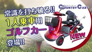 【業界革命】1人乗りゴルフカート/Single Golf Cart in ...