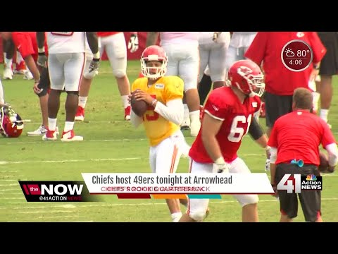 Chiefs host 49ers in first preseason game of the year