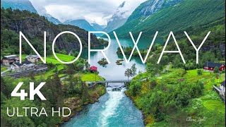 Norway AMAZING Beautiful Nature  The best Relax Music  4k Ultra HD Quality