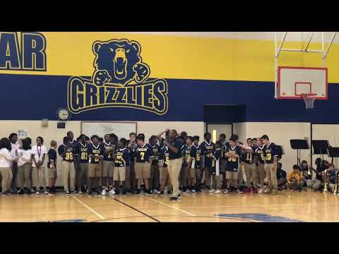 2018-19 West Briar Middle School Pep Rally
