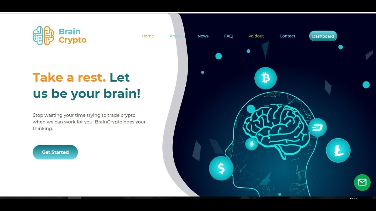 إربح مئات الدولارات وأنت نائم من موقع braincrypto مع ايداع 10 دولار live deposit