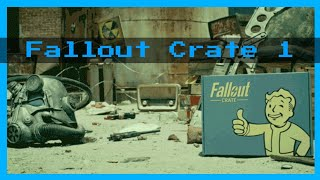 UNBOXING FALLOUT CRATE JANVIER ( FR 🇫🇷 (FALLOUT BOX))