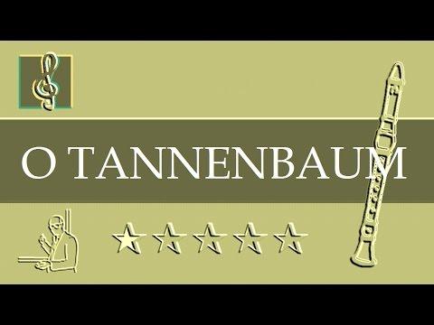 Recorder Notes Tutorial - Christmas Song - O Tannenbaum (Sheet music)