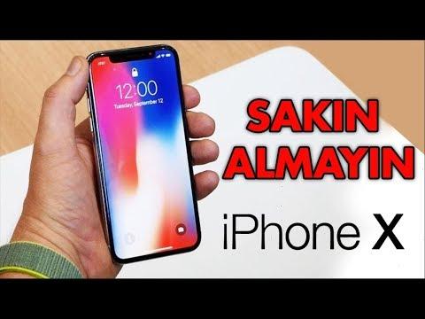 İPHONE X Satın Almamak İçin 7 Neden   ( Almadan Önce Mutlaka İzleyin )