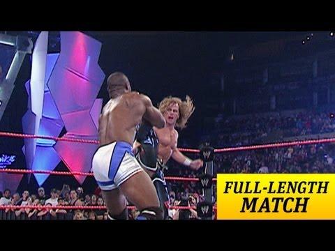 FULLLENGTH MATCH  Raw  Shawn Michaels vs Shelton Benjamin