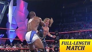 FULL-LENGTH MATCH - Raw - Shawn Michaels vs. Shelton Benjamin