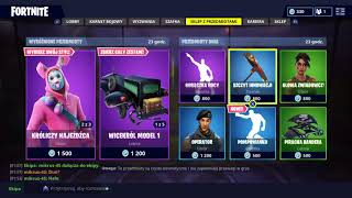 Fortnite Shop 08.04 The Easter skins have returned! For this new Emedown Emoter!