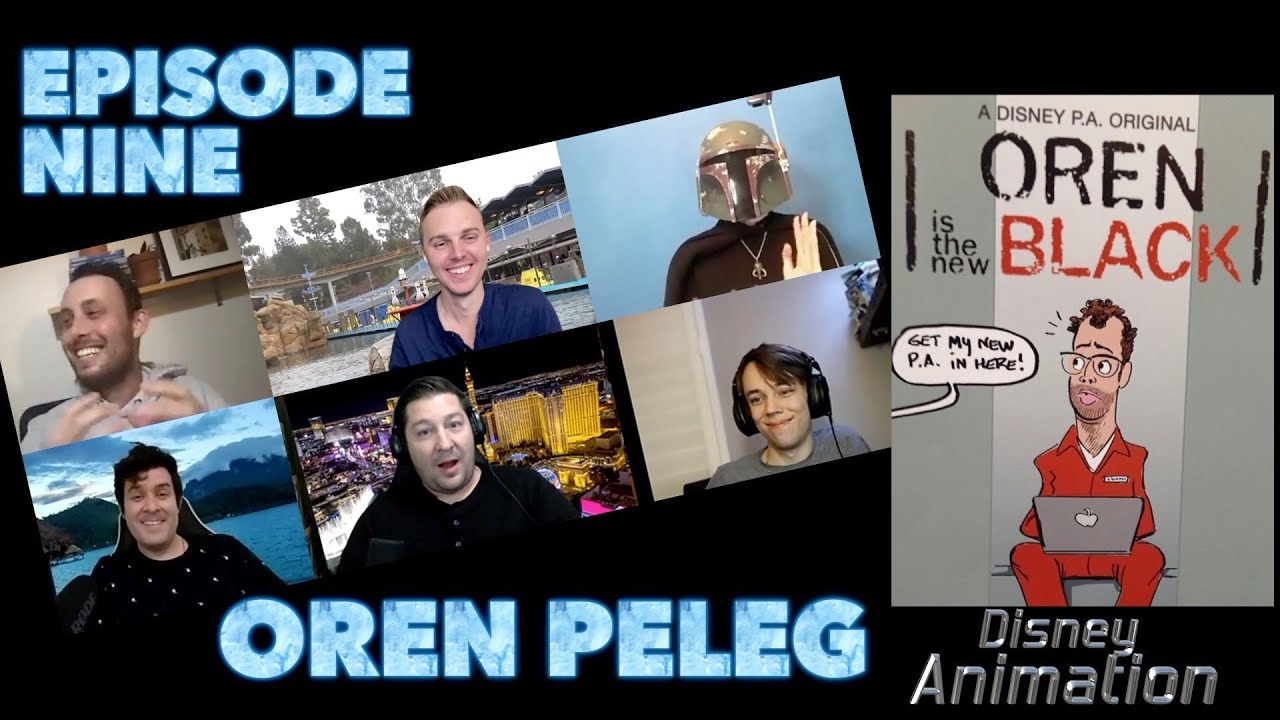 EP 9: Oren Peleg, Disney Animation Story Department