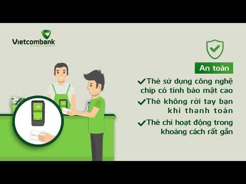 Vietcombank – Hướng dẫn sử dụng thanh toán bằng thẻ không tiếp xúc (contactless)