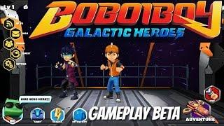 BOBOIBOY GALACTIC HEROES  #1 game 3D boboiboy galaxy terbaru!!