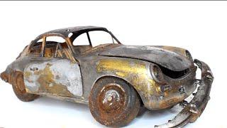 Restoration Abandoned Toy Car - Porsche 356