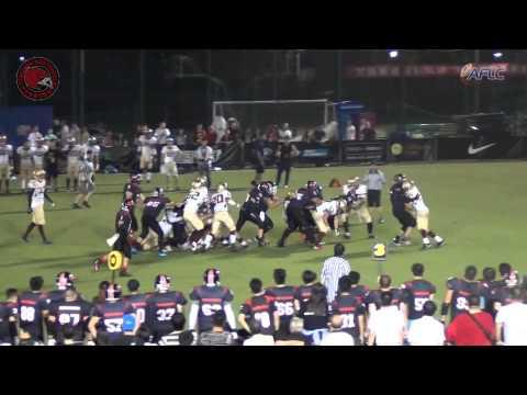 American Football League of China: Shanghai Nighthawks Game 2