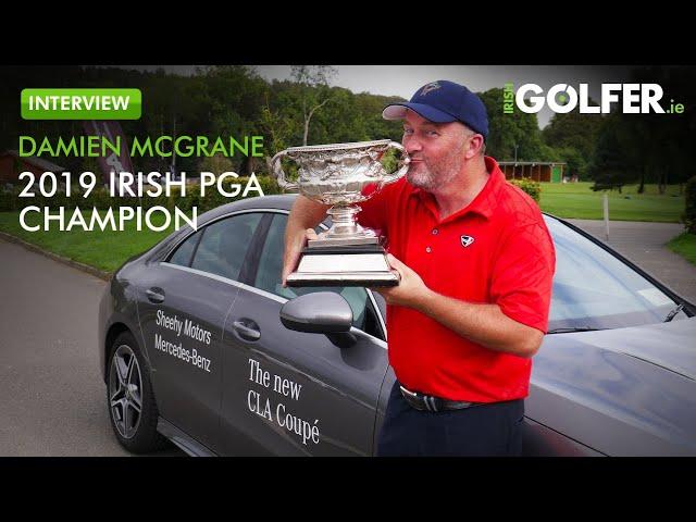 INTERVIEW - Damien McGrane, Winner of The 109th Irish PGA Championship