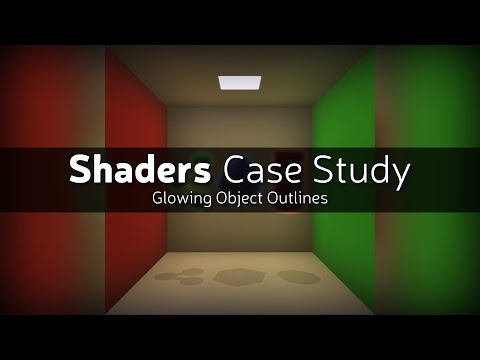 Shader Case Study - Glowing Object Outlines - YouTube