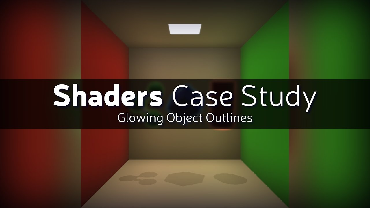How to make a glow effect around a player / object - Unity Forum