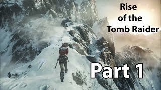 Rise of the Tomb Raider GamePlay Walkthrough part 1 | Muhammad Abbas Reaction