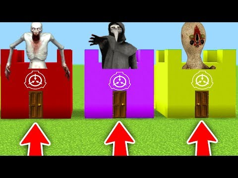 Do Not Choose The Wrong Scp Base In Minecraft Scp 096 Scp 173